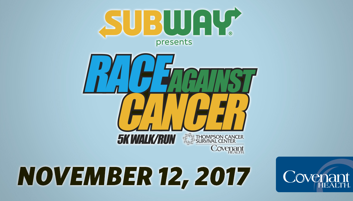 Subway Race Against Cancer 2017