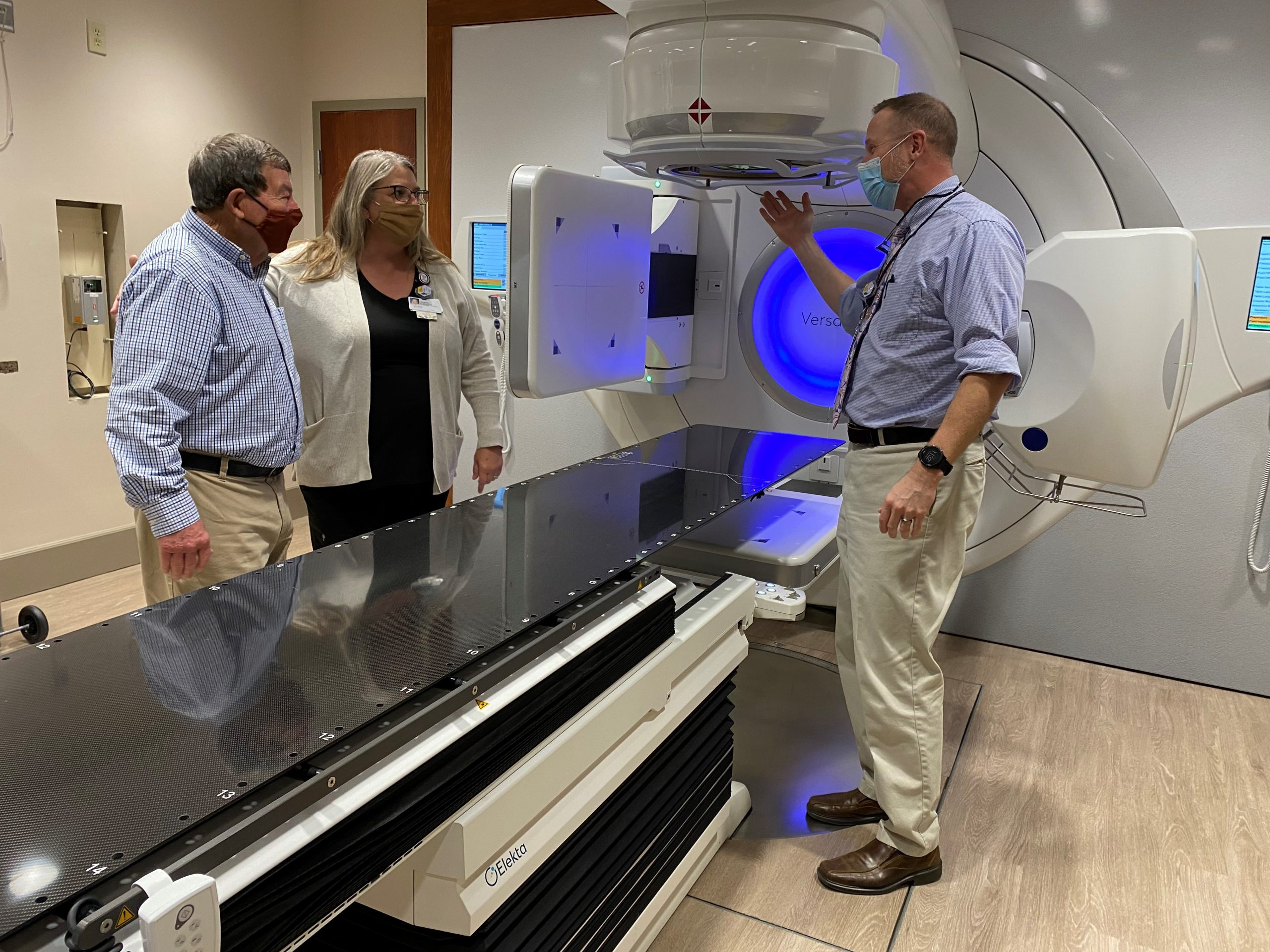 James Miller Discusses New Linear Accelerator